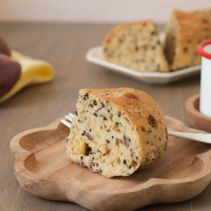 パンケーキミックスで作る炊飯器さつまいもケーキのレシピ(グルテンフリー)