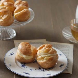 レシピ:失敗しないで作るコツ◎米粉シュークリーム(グルテンフリー)