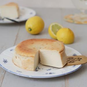 爽やかレモンのチーズケーキ(グルテンフリー)