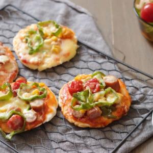即席!ホットケーキミックスで作るピザ