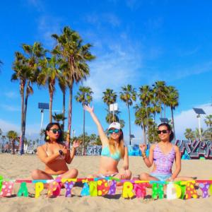 【ロサンゼルス】ベニスビーチ バレンタインバージョン
