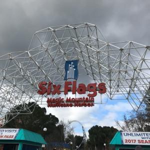 【ロサンゼルス】遊園地Six Flags Magic Mountain