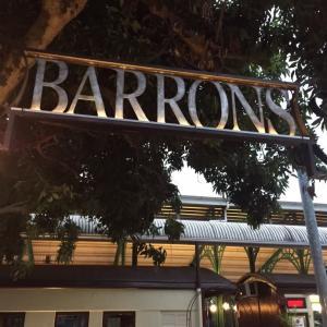 【ケアンズ】列車の中のレストラン【Barrons Bistro】