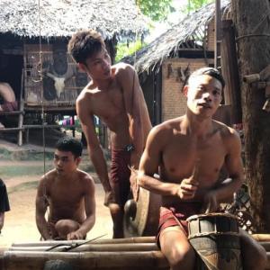 【パラワン島】部族の村