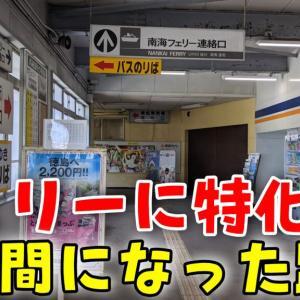 【途中駅全廃止】フェリーの為の路線と化した和歌山港線 和歌山港行きサザン