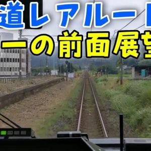 【大阪ひだ】前面展望でもう一つの東海道本線・新垂井線を観察