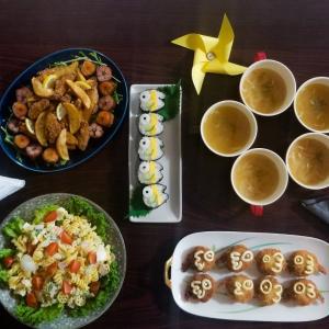 [料理] 夕飯~こどもの日メニュー2020~