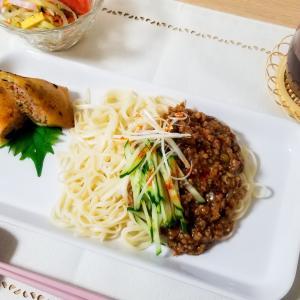 [料理] たまにはジャージャー麺もいいね