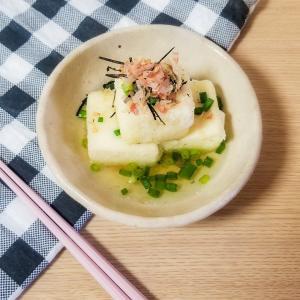 [料理] 揚げ出し豆腐
