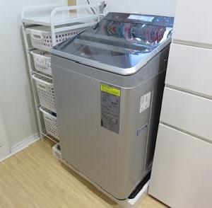 ドラム式洗濯機から縦型へ変更