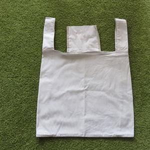 布バッグを洗濯機で洗ったら、アイロンが必要でした。