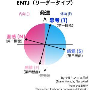ENTJ(リーダータイプ)の心理機能(認知機能)