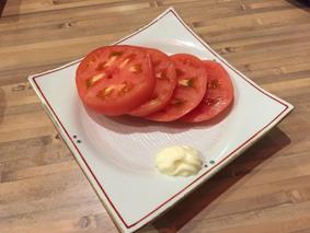 冷やしトマト旨し!
