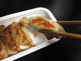 【セブン】お肉の旨味!ジューシー焼き餃子旨い!