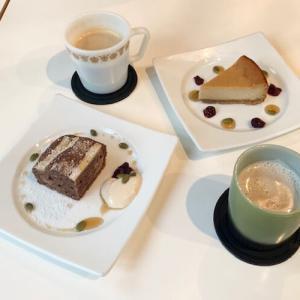 「プライベートロッジ カフェ&ディナー」体にやさしいスイーツは上品な味わいでおすすめです♪