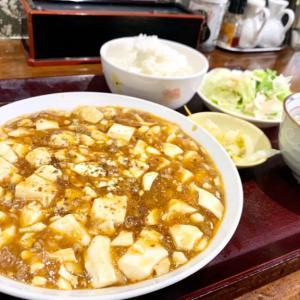 「福来亭」めっちゃご飯がススム!麻婆豆腐定食見つけました♪