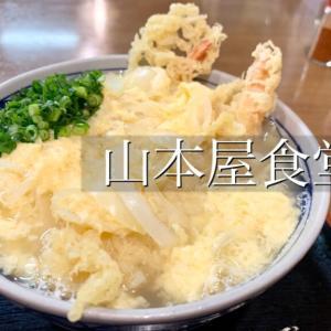 【山本屋食堂】天とじうどんは月1で食べたいレベルになってます。熊本・中央区