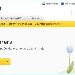 スウェーデンでフリーランス:確定申告してみた【2019年度分】