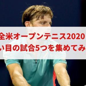 全米オープンテニス2020で狙い目の試合を5つピックアップ!