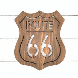 """◆糸ノコ木工◆""""ROUTE66""""と多肉 2 ~handmade~"""