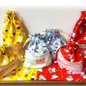 進級準備!新しい給食袋やハンカチ~ソーイングhandmade~