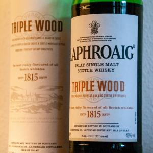再びラフロイグ!(Laphroaig Triple Wood)