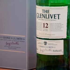 すべてのシングルモルトの原点といわれる The Glenlivet 12年