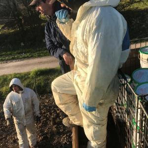 【動画あり】霜対策のロウソクを畑に設置してきました