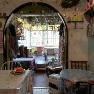 名古屋の可愛いカフェこまものやさん。キッシュも美味しい、店内が激カワだった!