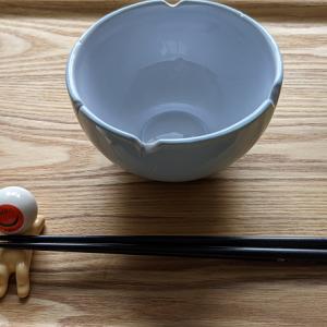 【鬼太郎グッズ】「目玉おやじの箸置き&お風呂茶碗」を買う