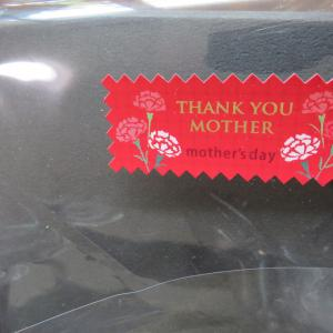 母の日のお花、ありがとう~・・・