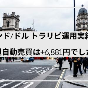 (+6,881円)今週のトラリピ運用実績  GBP/USD 今後の運用方針について