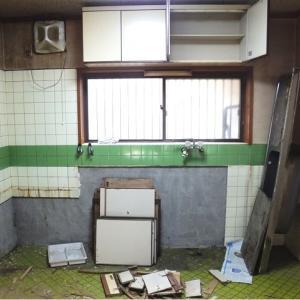 #013 リフォーム開始! 2階のキッチンを解体