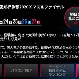フナゾウの一般 テレビ愛知杯争奪 2020Xマス&ファイナルカップ優勝予想!|ボートレース蒲郡