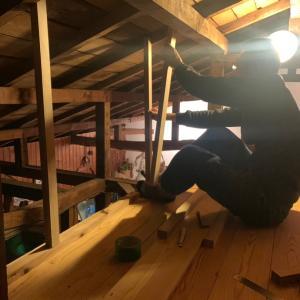 【旦那の隠れ家DIY】#06 壁下地を組みました