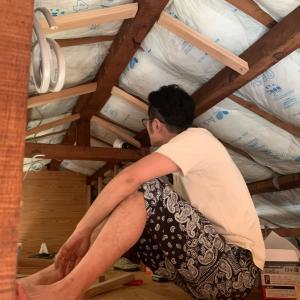 【旦那の隠れ家DIY】#10 天井どうする?