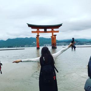 【Queen Elizabeth】 広島観光 宮島 嚴島神社【クイーン・エリザベス 2019乗船記⑪】