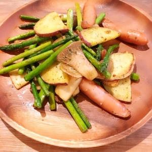 【簡単おかず】にんにく野菜炒めのレシピ・作り方