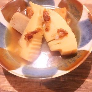 たけのこの煮物|簡単作り方・レシピ