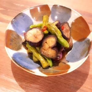 【作りおきおかず】ナスとししとうの南蛮漬け|焼いて漬けるだけの簡単レシピ