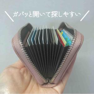 このカードケース安いのにすごいよの巻。