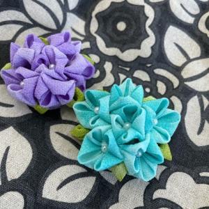 つまみの紫陽花