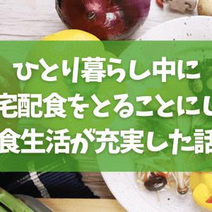 【nosh】ひとり暮らし中に定期宅配食をとることにしたら食生活が充実した話【ナッシュ】