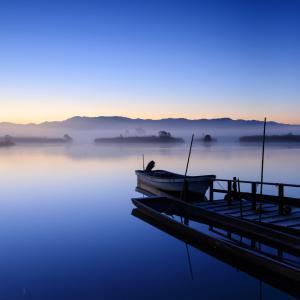 久しぶりの福島潟、晴れて盛大に朝霧が出てきたお話