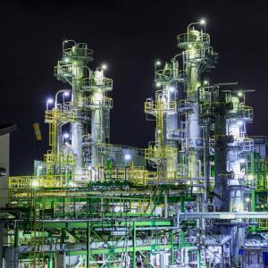 GWに長岡の工場夜景を撮影してきたお話