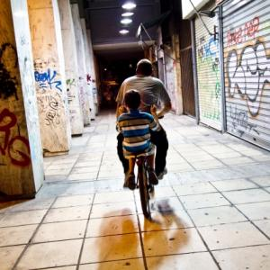 私は怠惰だから、自転車に乗りながら気功とか瞑想もする。