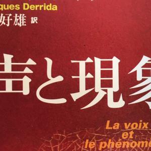 『声と現象(デリダ)』要旨・要約、感想とレビュー