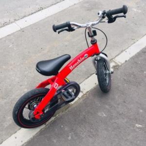 補助輪なし!3歳長男自転車練習と、その時次男は。
