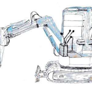 小型車両系建設機械の特別教育を受講しました