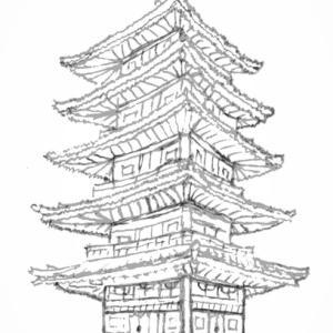 東寺まで散歩して、五体投地をしてみたい